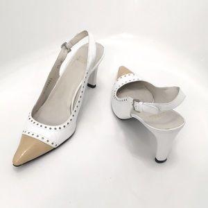 Adorable Stuart Weitzman slingback heels